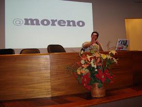 Photo: Encerrando. Para quem quiser seguir o Moreno no Twitter.