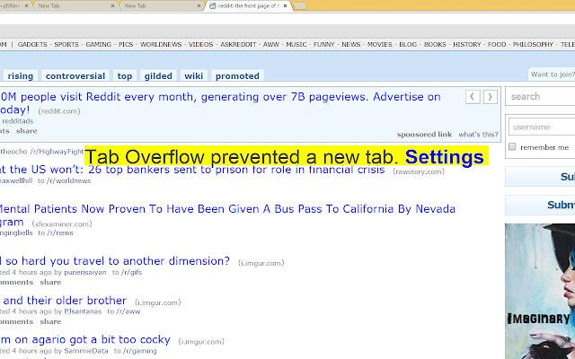 Tab Overflow
