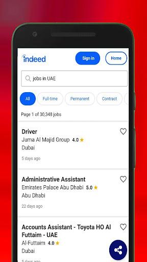 Jobs in Dubai Jobs in UAE App Report on Mobile Action - App
