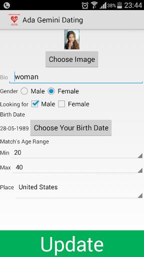 Ada Gemini Dating and Love App