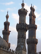 Photo: The same three towers of the same mosque as before, just from a better angle.