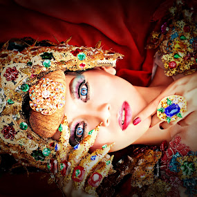 Exotic Colour by Bagas Prakoso - People Portraits of Women