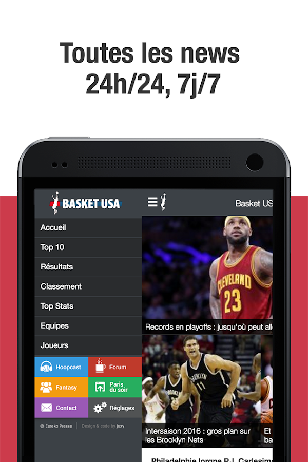 Basket USA- screenshot