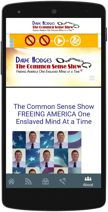 The Common Sense Show- screenshot