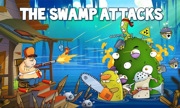 Swamp Attack APK screenshot thumbnail 1