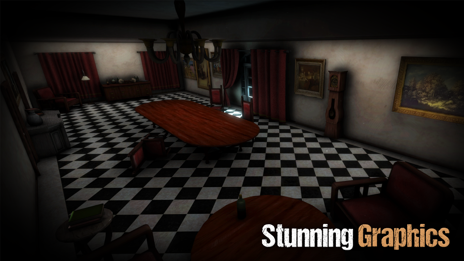 Sinister Edge - 3D Horror Game- screenshot