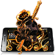 Gold Skull Sword Theme Download on Windows