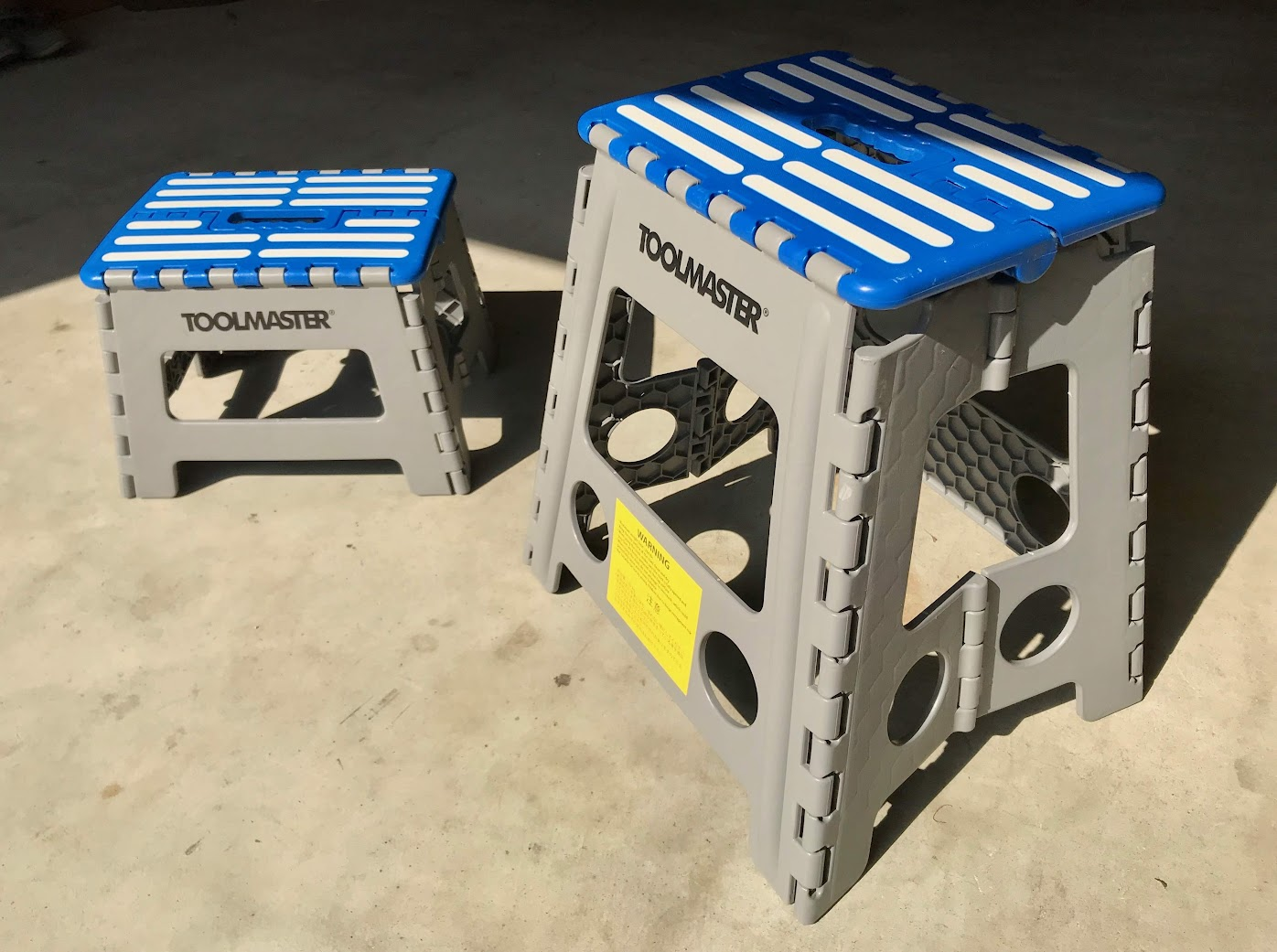 TOOLMASTER® FOLDABLE STEP STOOLS