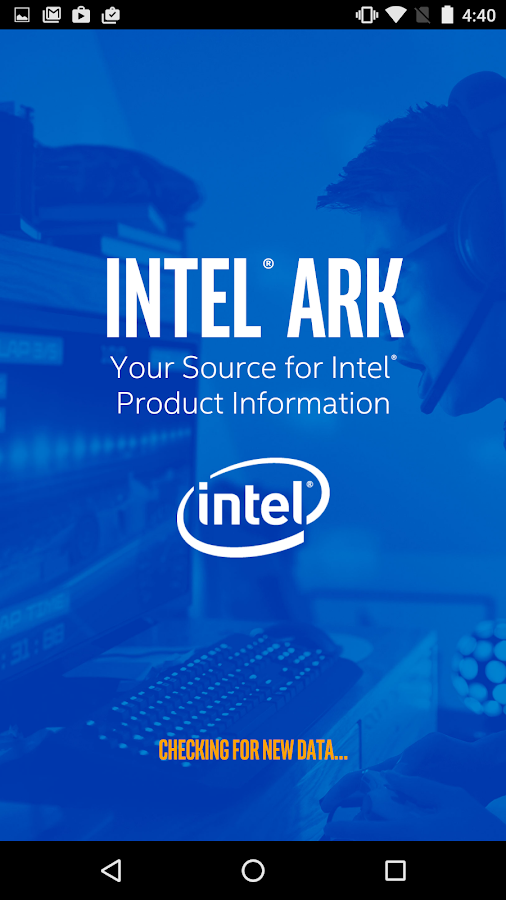 Intel® ARK (Product Specs)- screenshot
