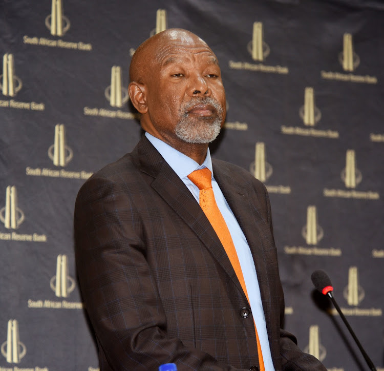 Reserve Bank governor Lesetja Kganyago at the Reserve Bank head offices in Pretoria. File image