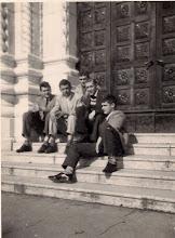 Photo: 1960 U rijeci S Lijeva: Majetić Zlatko, Bezmarević Vlado, Kurtović, Rovis Franko, Petrić Mario