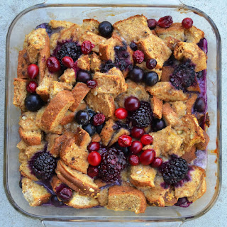Berry Protein Overnight French Toast