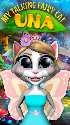 My Talking Fairy Cat Una 1.2 screenshots 1
