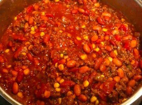 Lori's Calico Chili Recipe