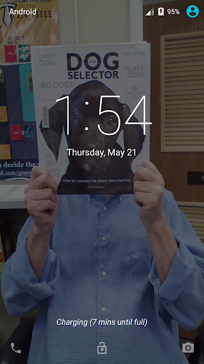 Book Face Live Wallpaper Free