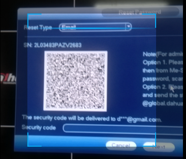 Hướng dẫn: (Reset) Lấy lại mật khẩu đầu ghi Dahua mới nhất