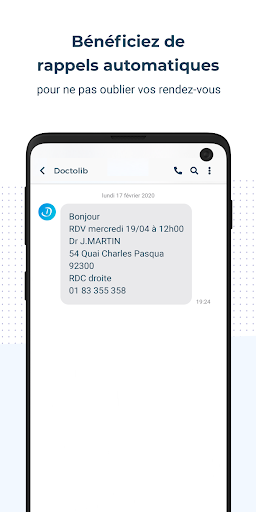 Doctolib - Prise de rendez-vous en ligne screenshot 5