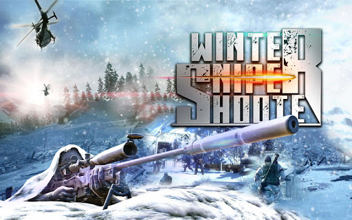 Winter Mountain Sniper - Combat de tireur moderne  captures d'écran 1