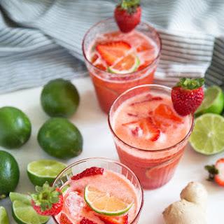Strawberry Ginger Limeade.