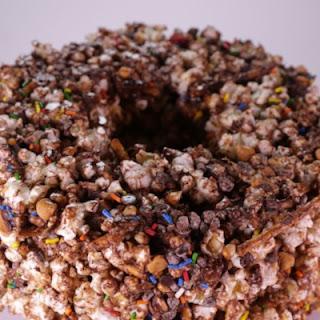 Popcorn Party Cake