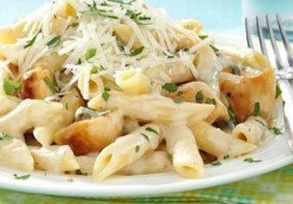 Chicken & Penne Gorgonzola Recipe