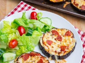 Crazy good Eggplant Pizza