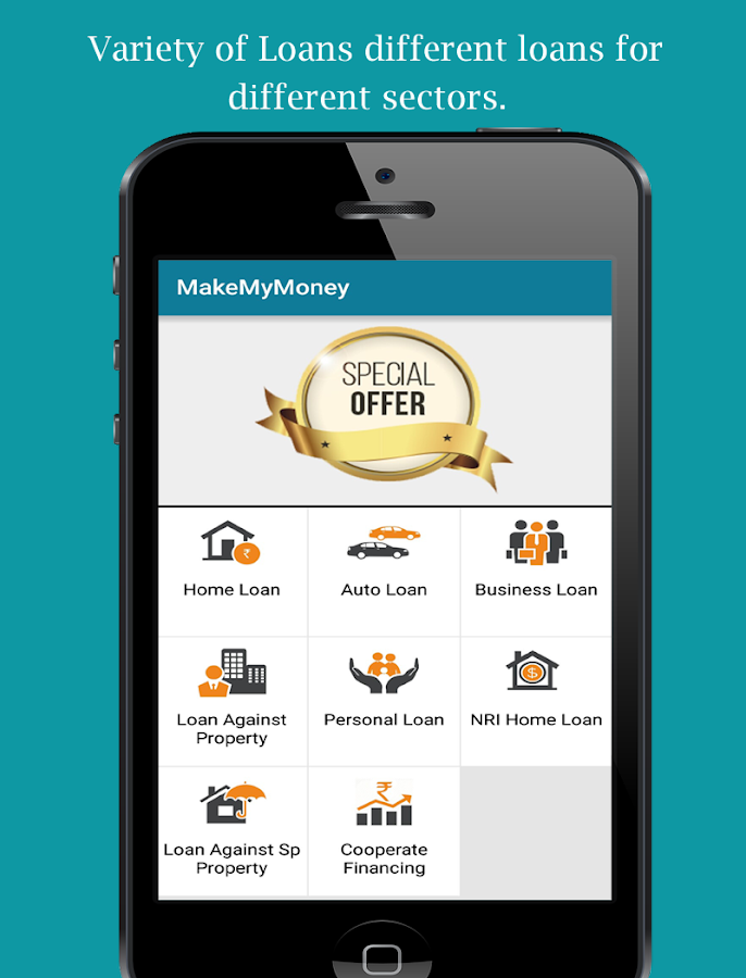 MakeMyMoney Avail Loan Online- screenshot