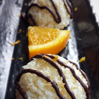 Orange Coconut Macaroons (Gluten-Free).
