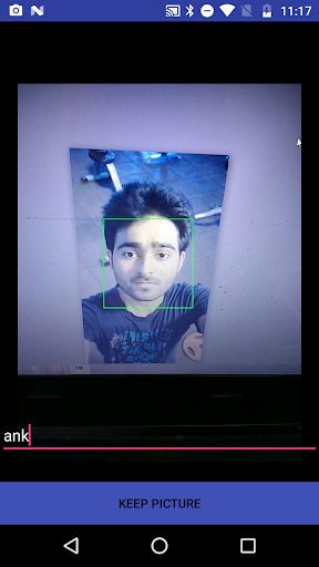 Face Recognition Demo with Opencv Manager by preeti (Google
