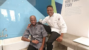 Talented young chefs Terror Lekopa and Freedom Khanyile, from Gauteng depart on an expedition from Soweto to Sodwana Bay.