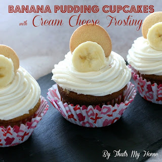 Banana Pudding Cupcakes with Cream Cheese Frosting