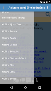 Asistent za občine in društva- screenshot thumbnail