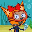 Kid-E-Cats Sea Adventure! Cat Games for Kids icon
