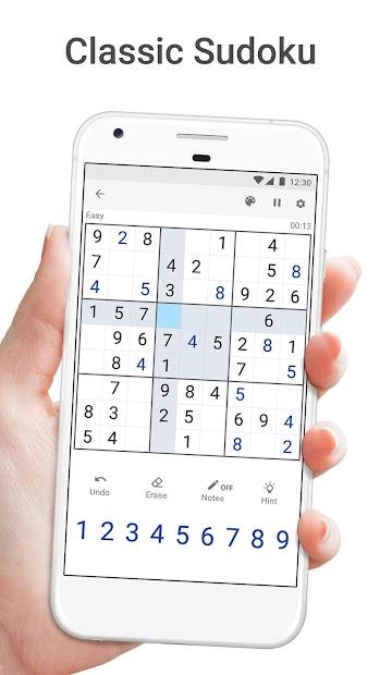 Sudoku.com - Free Game Android App Screenshot
