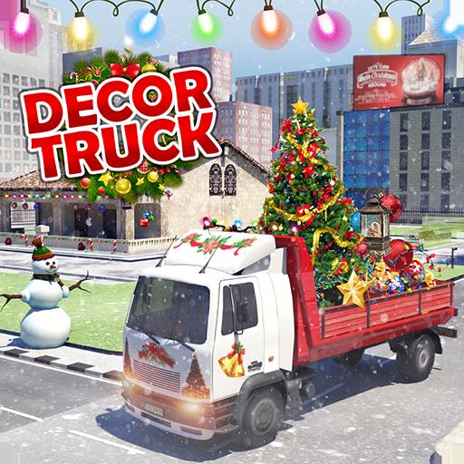 Baixar Design de casa caminhão Simulador Jogos de Natal para Android