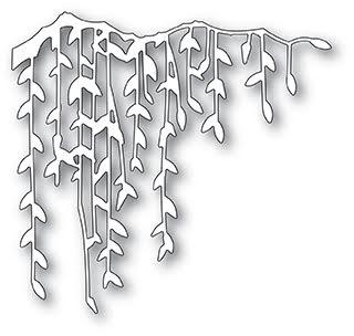 Poppystamps Die - Weeping Willow Branch