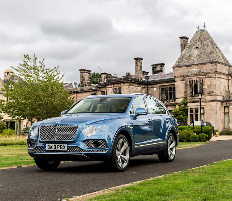The Bentley Bentayga.