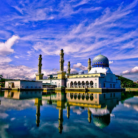 the beautiful floating mosque by Md Arif - Buildings & Architecture Other Exteriors