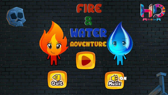 Download Red Boy And Blue Girl Advanture For PC Windows and Mac apk screenshot 1