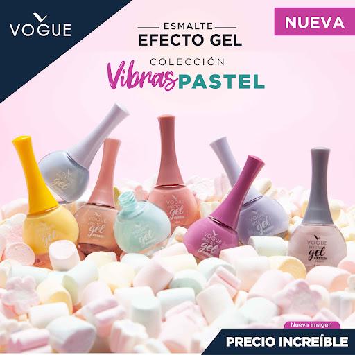 Vibras pastel Esmalte Vogue efecto gel
