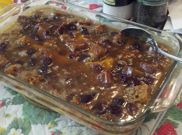Susan's Pumpkin Bread Pudding Recipe