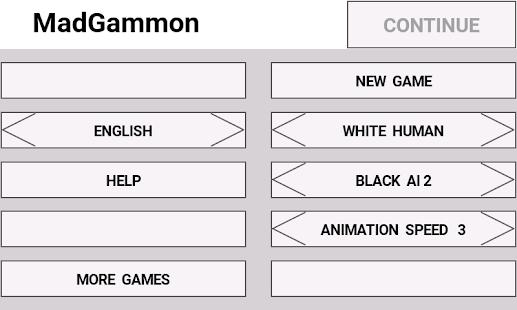 MadGammon Lite - náhled