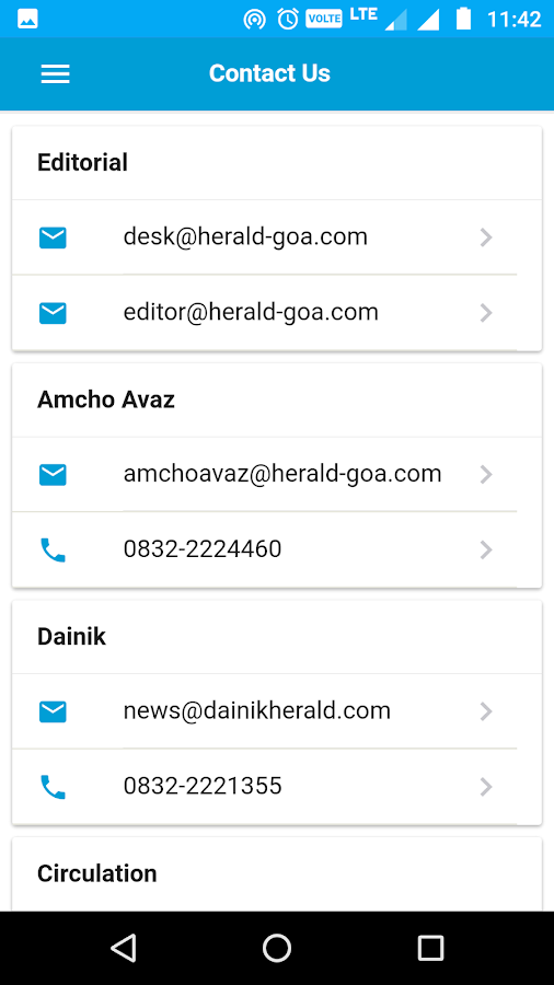 oHeraldo- screenshot