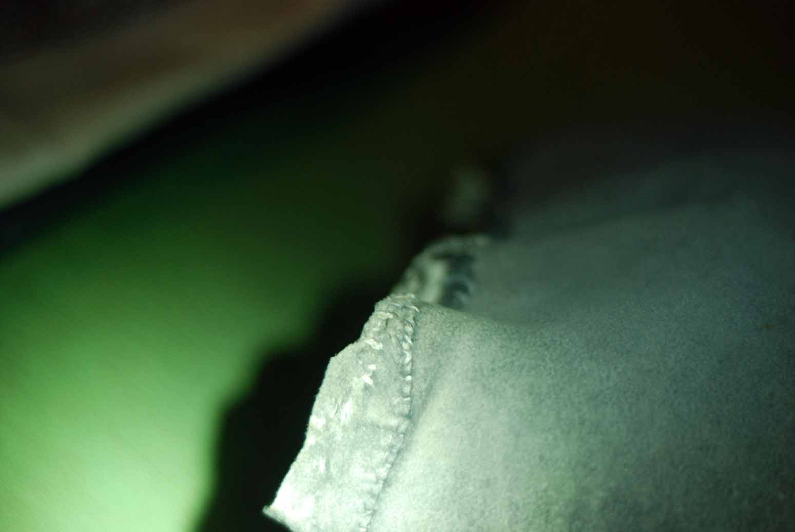 Photo: Svante Sture's under-breeches 2014-03 Leg patch