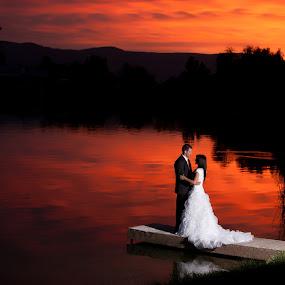 Fire Sky by Scott Myler - People Couples