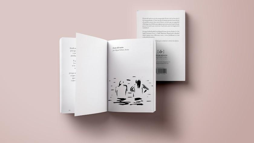 Páginas interiores de 'El año del sueño y otros escritos', ilustrado por Javier Huecas.