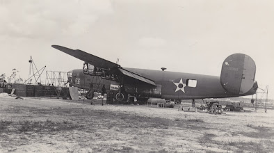 Photo: B-24 Liberator.   Ft. Myers Air Base.  Ft. Myers, FL.  Spring 1942.
