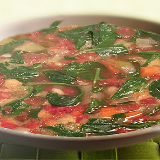 Spinach & Chickpea Soup