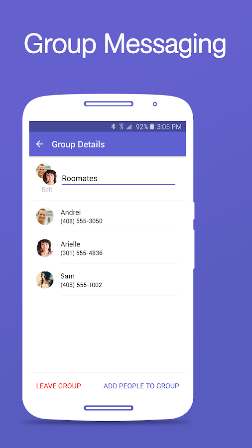 Text Free - Free Text + SMS- screenshot