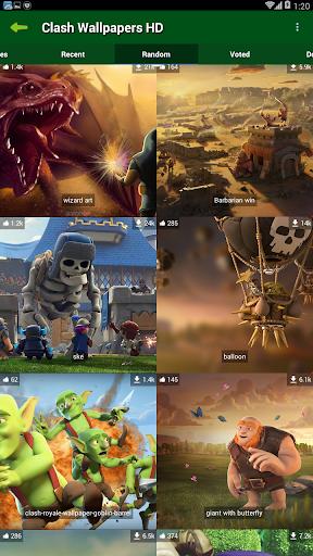 Clash Wallpapers HD 1.0 screenshots 2